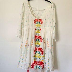 O'Niell | Bohemian Lace Back Flowy Dress